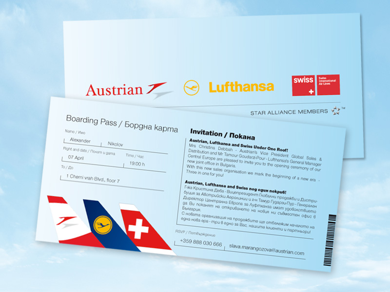 Bars For Austrian Airlines
